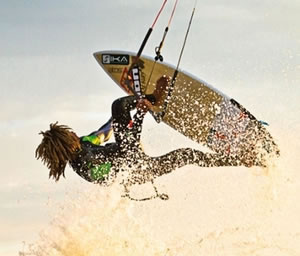 Kite-e-windsurf