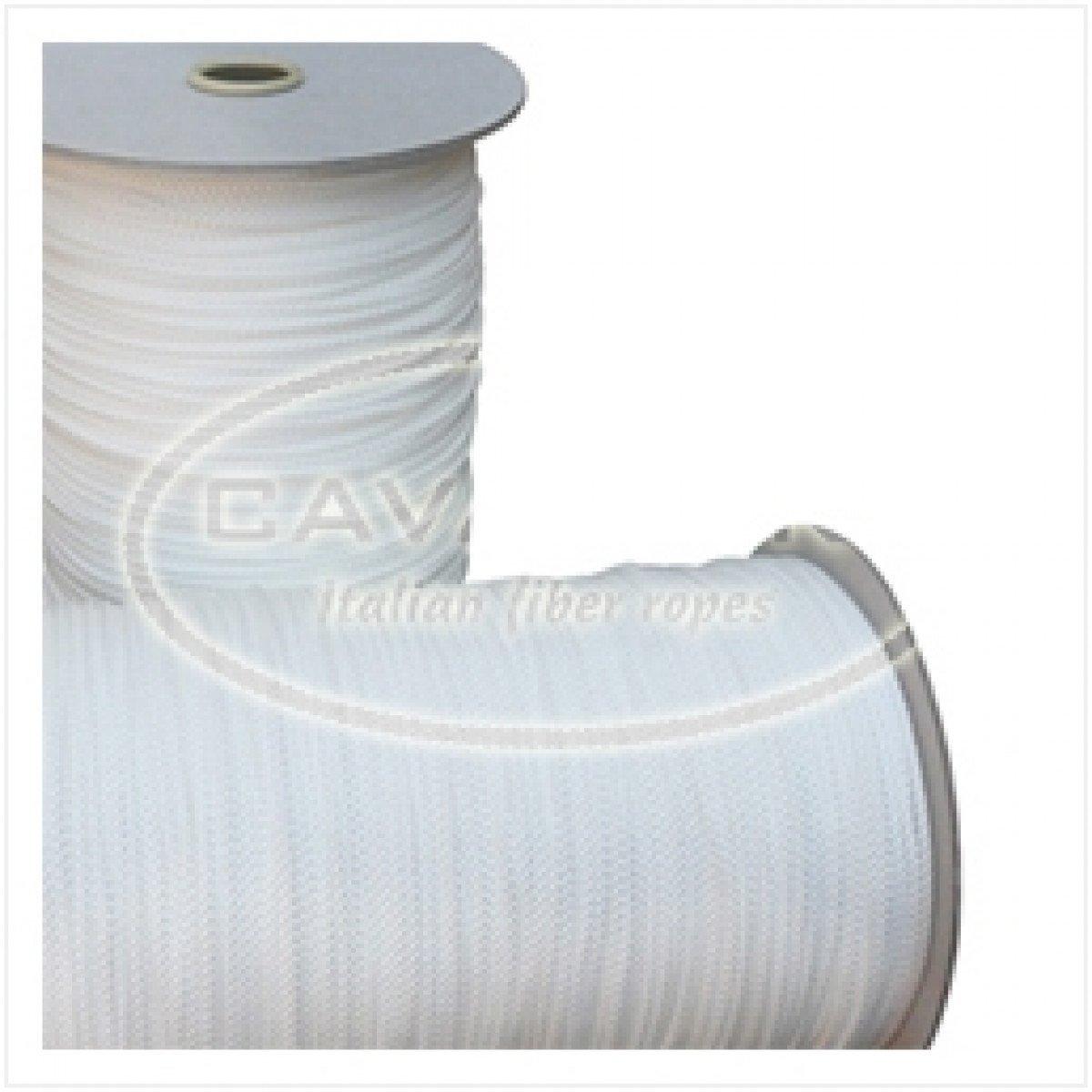 Bobina Corda In Nylon 4//C 12Mm 100 M Bianco