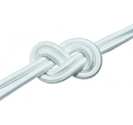 Elastico con calza in Dyneema SK78 Dyneema Rubber LineØ 3-8mm bianco