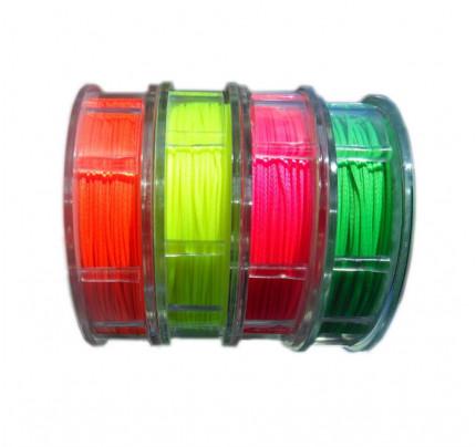 Filo cerato in poliestere Ø1mm da 40m per impalmature - colori fluo