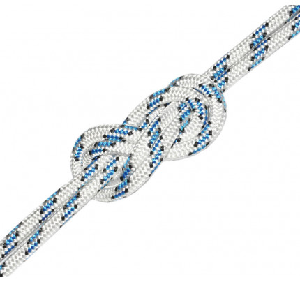 Cordescotte.it-OV1050.8-BB-BO100-Bobina 100 metri POLIESTERE16 Ø8mm bianca blu-nere-20