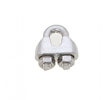 Viadana-60.05-Morsetto inox per cavo Ø5mm-20