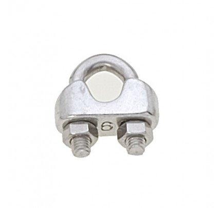 Viadana-60.06-Morsetto inox per cavo Ø6mm-20