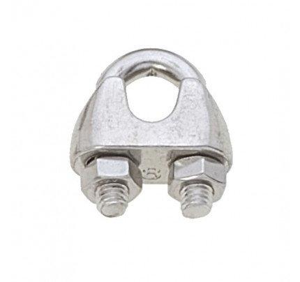 Viadana-60.07-Morsetto inox per cavo Ø8mm-20