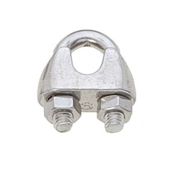 Viadana-60.07-Morsetto inox per cavo Ø8mm-30
